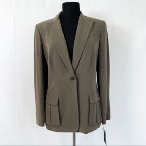 🆕Liz Claiborne Collection 8 Silk Blend Blazer NWT